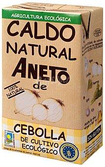 Aneto Caldo natural de cebolla de cultivo ecológico  Envase de 1 l