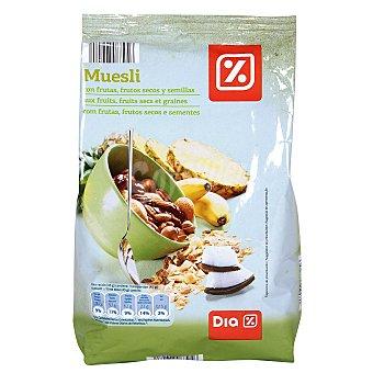 DIA Cereales muesli con 50% de fruta paquete 750 gr Paquete 750 gr