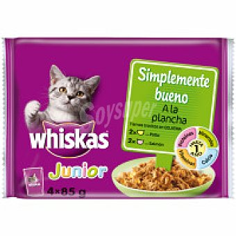 Whiskas Simple bueno junior Pack 4x85 g