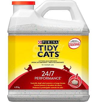 Purina Tidy Cats Arena para gato Crystals Blend con control activo de olores Envase 6,350 kg