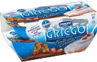 Griego Danone Griego con fresas 4 unidades