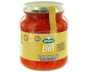 Amalur Zanahoria de cultivo ecológico rallada en tiras 230 gr