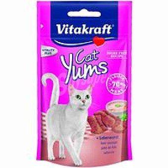 Vitakraft Bocaditos de Carne Cat Yums Pate de Higado 40 g