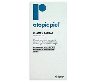 ATOPIC PIEL Champú capilar para cueros cabelludos con tendencia atópica y/o sensible 200 Mililitros