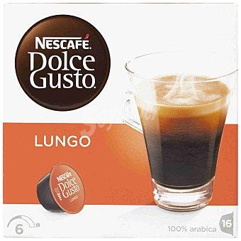 NESCAFE DOLCE GUSTO Cafe Lungo estuche 112 g 16 capsulas