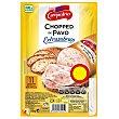 Chopped de pavo extrasabroso en lonchas sin gluten Envase 130 g Campofrío
