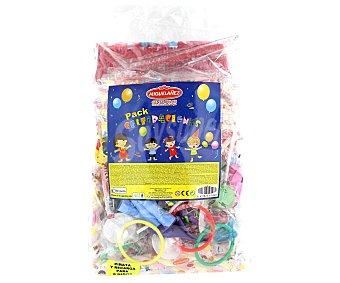 Miguelañez Pack celebraciones con piñata y surtido de dulces para 8 niños Bolsa 1 u