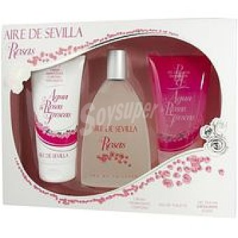 Aire de Sevilla Pack Agua de Rosas Pack 1 unid