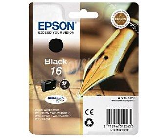 Epson Cartucho Negro 16- Compatible con impresoras: WF-2010W / WF-2510WF / WF-2520NF / WF-2530WF / WF-2540WF
