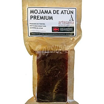 Salazones Serrano Mojama de atún extra taco 200 g 200 g