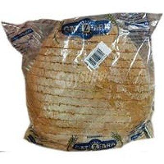 Gatzara Pan payés blanco cortado 750 g