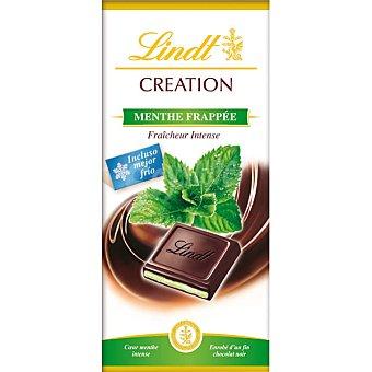 Lindt Creation chocolate negro relleno de menta intensa Tableta 150 g