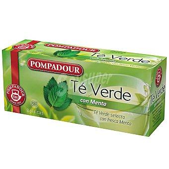 Pompadour té verde con menta Estuche 20 sobres
