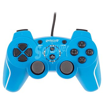PS3 Mando con cable Gioteck VX-2 azul para PS3