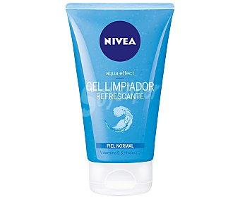 Nivea Gel limpiador facial al agua para piel normal y mixta 150 ml