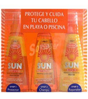 Herbal Essences Pack de Protector Capilar+Champú After Sun+Reparador Capilar After Sun 1 ud