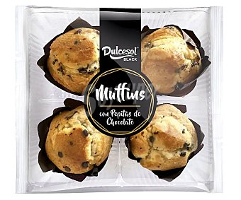 Dulcesol Muffins con pepitas de chocolate 300 g