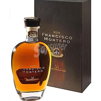 Francisco montero Ron superior premium botella 70 cl Botella 70 cl