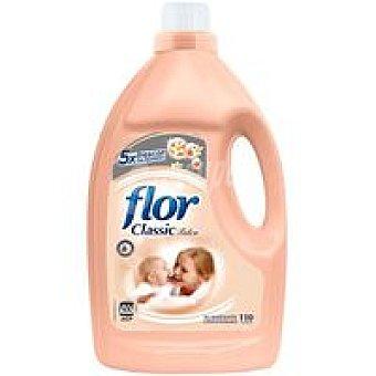 Flor Suavizante concentrado Classic talco 110 lavados