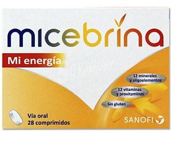 MICEBRINA Mi Energía Complemento alimenticio, vitaminas y minerales 28 Comprimidos