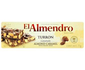 EL ALMENDRO Turrón al caramelo 75 Gramos