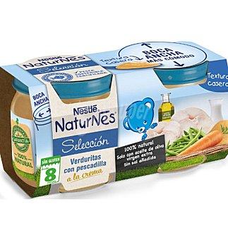 Naturnés Nestlé Tarrito verduritas con pescadilla a la crema 400 g 200 G 2 UNI