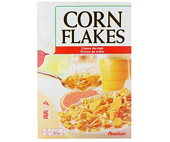 Auchan Cereales corn flakes 500 gramos