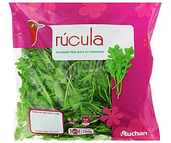 Auchan Rúcula Bolsa de 100 gramos