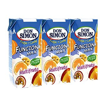 Don Simón Funciona sabor multifrutas Pack 4x300 ml