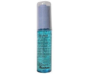 AUCHAN 400290 Spray + paño de microfibras 30 ML