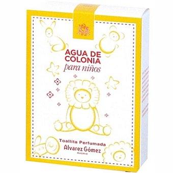 Alvarez gomez Toallitas perfumadas para niños Caja 10 unidades