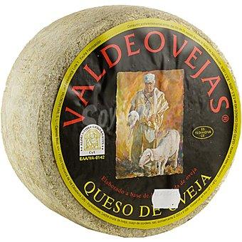 VALDEOVEJAS Queso curado de oveja de leche cruda peso aproximado cuña 750 g