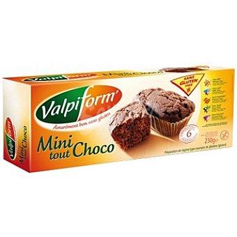 Valpiform Minibizcocho de chocolate sin gluten Envase 230 g