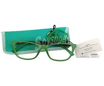 Vannali Gafas de lectura unisex para vista cansada (+3), con funda y cordón vannali