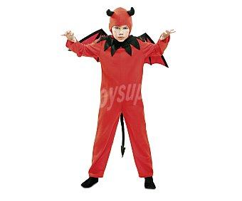 MY OTHER ME Disfraz infantil Diablo Rojo, talla XS, de 1 a 2 años Diablo Rojo 1-2 años