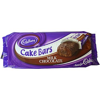 Cadbury Cake bars con chocolate con leche Estuche 130 g