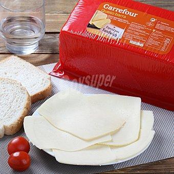 Carrefour Queso edam barra lonchas 150.0 g. aprox