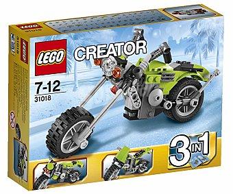 LEGO Juego de Construcciones Creator, Halcon de la Carretera, Modelo 31018 1 Unidad