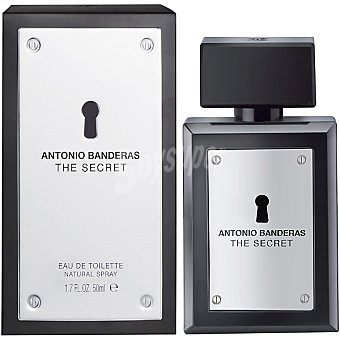 Antonio Banderas The Secret eau de toilette natural masculina Spray 50 ml