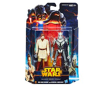 Star Wars Pack de 2 figuras Mission Series 1 unidad