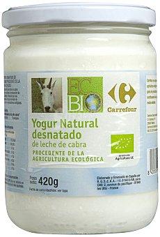 Carrefour Bio Yogur cabra 0% 420 g