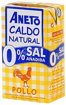 Aneto Caldo de pollo 0% sal 1 l