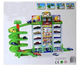 Productos Económicos Alcampo Super Parking de 5 plantas y 4 coches 1 unidad
