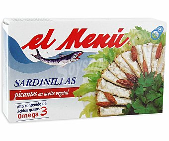 El Menu Sardinillas Picantes Lata 65 Gramos Peso Escurrido