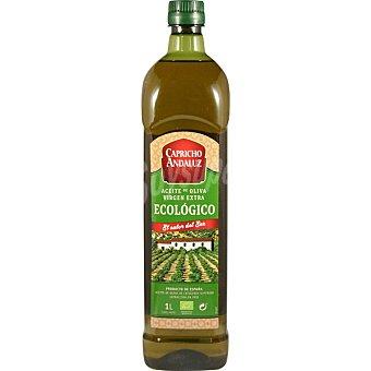 Capricho Andaluz Aceite de oliva virgen extra ecológico botella 1 l botella 1 l
