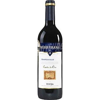 Berberana Carta de Oro Vino tinto tempranillo joven D.O. Rioja Botella 75 cl