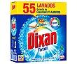 Detergente en polvo para lavadora 48 dosis Dixan