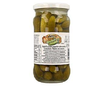 Celorrio Pepinillo en conserva pequeños sabor a anchoa 325 gr