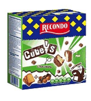 Recondo Colines cube's chocolate y avellanas 125 g