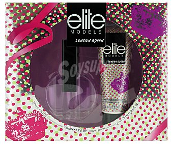 ELITE London Estuche Colonia Mujer: Colonia 50ml + Body Lotion 75ml 1u